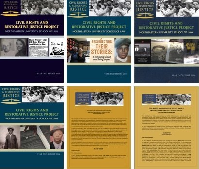covers of Annual Reports 2012 to 2019