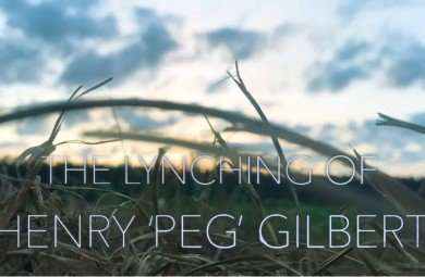 still image of a field, from the film 'The Lynching of Henry Peg Gilbert'