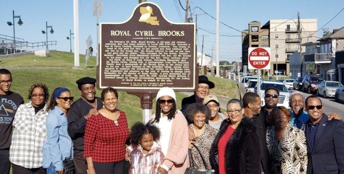Royal Cyril Brooks – Historical Marker Unveiling (Gretna, LA)