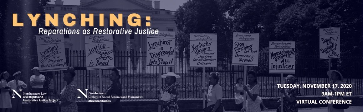Lynching: Reparations as Restorative Justice (Virtual Conference)